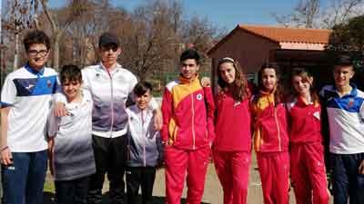 Celebración del Campeonato Regional Juvenil de Tripletas Y Dupletas
